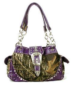 Western Handbag Camouflage Belt Buckle Camo Rhinestone Purse (PURPLE) ANYTHINGEVERYTHINGSHOP http://www.amazon.com/dp/B00LHE0LR0/ref=cm_sw_r_pi_dp_icxTtb0P2YCKSAP8