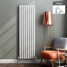 Vertical radiators come in all styles & sizes! Choose from small or tall radiators, flat panel, tube or vertical column radiators. Central Heating Radiators, Vertical Radiators, Column Radiators, Contemporary Radiators, Contemporary Design, Modern Design, Kitchen Radiator, Designer Radiator, Homes
