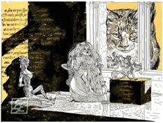 In the dollshouse. Artist's print. 305.