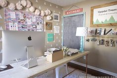 Creative Workspace Tour - Have you ever had a room so messy that the thought of someone else seeing it made you cringe? Or been embarrassed when someone opened…