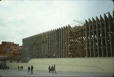 Construccion palacio de justicia Louvre, History, Retro, City, Travel, Bogota Colombia, Historical Photos, Righteousness, Fotografia