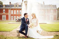 Fetcham Park bride and groom.  #weddingvenues #Surrey #FetchamPark #photographers #Surreyweddingphotography #photos #JulietMckeePhotography