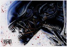 Paul Butcher Paul Butcher, Alien 1979, Alien Vs Predator, Xenomorph, Science Fiction Art, Visionary Art, Jurassic World, Aliens, Spawn