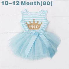 e4f47945171c Ai Meng Baby Flower Girls Princess First Birthday Outfits One Two Three Years  Old Birthday Baby Toddler Dresses Clothes Striped