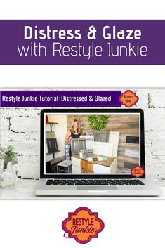 If you're looking for an upscale farmhouse feel in your kitchen or on your painted furniture and projects, this video will show you how to distress and glaze your cabinets to achieve the look you want. Retro Home Decor, Unique Home Decor, Diy Home Decor, Repurposed Wood, Reclaimed Barn Wood, Diy Arts And Crafts, Diy Crafts, Painting Cabinets, Decorating On A Budget