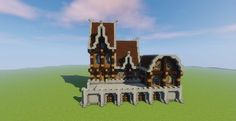 Sweet Medieval House Minecraft Project