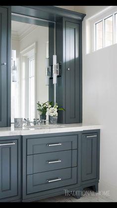 Fresh Storage Cabinet for Bathroom Countertop