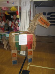 Trojan Horse out of Girl Scout Cookie Boxes