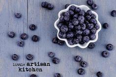 blueberries from Little Artisan Kitchen Artisan Kitchen, Blueberries, Blackberry, Fruit, Food, The Fruit, Blackberries, Meals, Blueberry