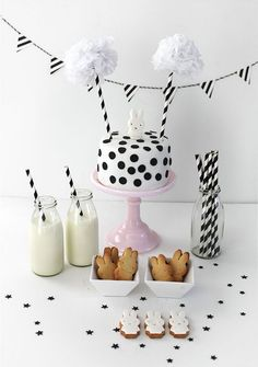 Black & White Birthday Party