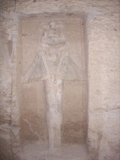 Carving in KV5 in the Valley of the Kings, own image
