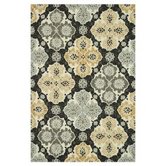 Add a touch of grace to your room decor with the Wildon Home ® Area Rug. This hand woven area rug is made using synthetic, which ensures softness, streng...