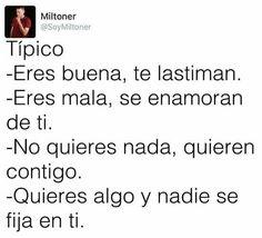 Mi vida resumida Sad Life, Spanish Quotes, Decir No, True Feelings, Sad Love Quotes, Funny Memes, True Stories, I Love You, Sad Sayings