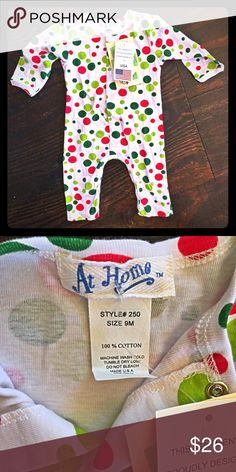 At Home Christmas Pajamas Adorable Christmas pj,s. 100% cotton. NWT At Home Pajamas