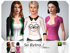 So Retro! by Katelys  http://www.thesimsresource.com/downloads/1187539