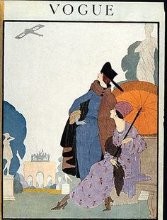 #Vintage #Magazine #Fashion #Illustrations #Magazines #Cover #Covers #Vogue #October #1918