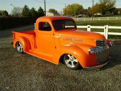 43 Chevrolet Step Side truck.