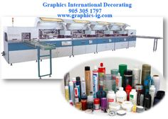 GID offers a full range of direct printing equipment for 3D parts and containers. GID specializes in #ScreenPrintingEquipment, but machines for dry offset, pad #printing and hot stamping are also produced.   www.graphics-ig.com