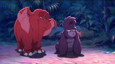 Tarzan: Young Tantor and Young Terk
