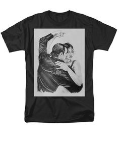"""Tango"" T-shirts for sale! Your choice of background colors!"