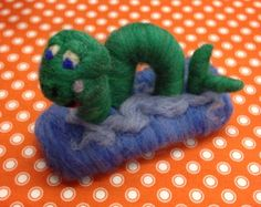 George the Needle Felted Sea Monster