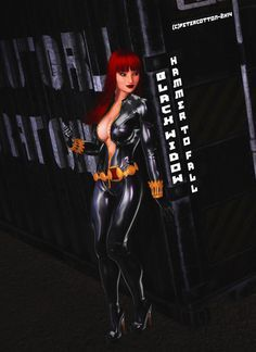 HammerToFall by petercotton Right, last Black Widow for now! I haven't decided if I'm going to back to X-men or try other Avengers. We'll see! Enjoy my art! AND REMEMBER! I do all of this for you! BECAUSE I LOVE YOOOOO. Pete! PS: Idelacio suggested...