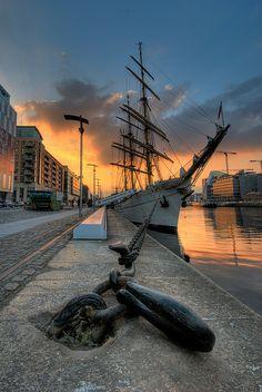 Docks, Dublin, Ireland