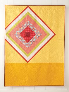 Twinkle from Quilt Giving: 19 Simple Quilt Patterns to Make and Give by Deborah Fisher  #modernquilting