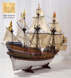 Фламандский галеон 1593 , 1:48 , Игорь Капинос (igorcap) - Форум