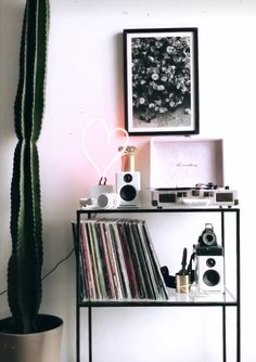 44 Ideas For Music Room Bohemian Record Player
