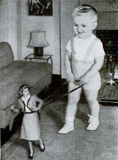 Sometimes it does feel like that: Johnson Baby Powder ad - 1947