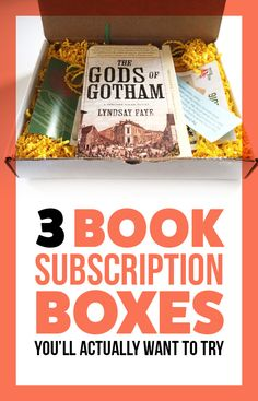 Could a monthly book box cure my reading indecisiveness?