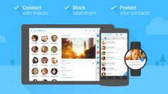 Contacts  v5.11.4 (Plus)  Sábado 12 de Diciembre 2015.Por: Yomar Gonzalez | AndroidfastApk  Contacts  v5.11.4 (Plus) Requisitos: 2.3 y arriba Descripción: Contactos  es sus contactos cotidianos y dialer aplicación impulsado con la mensajería de texto WhatsApp Facebook Twitter y mucho más - todo en un solo lugar. Contactos  es en contacto con el líder mundial (guía) y aplicación dialer impulsado con identificador de llamadas bloqueo de spam y los contactos de copia de seguridad - todo en un…