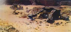 Massive Amount of Episode VII Concept Art Leaked | The Star Wars Underworld