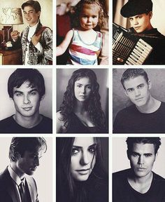 Ian Somerhalder, Nina Dobrev, and Paul Wesley | Damon Salvator Facebook page