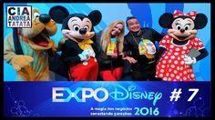 Toy Story & McQueen & Mickey e sua Turma - Expo Disney 2016 Cia Andrea T...