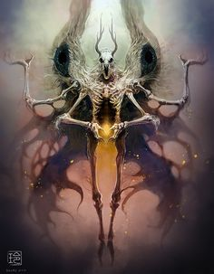 I love Art ,Horror and other nice things. Dark Fantasy Art, Fantasy Kunst, Dark Art, Dark Creatures, Mythical Creatures, Arte Horror, Horror Art, Art Sinistre, Art Noir