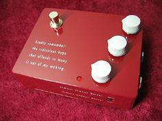 KLON KTR Professional Overdrive Pedal http://www.instrumentssale.com/klon-ktr-professional-overdrive-pedal/