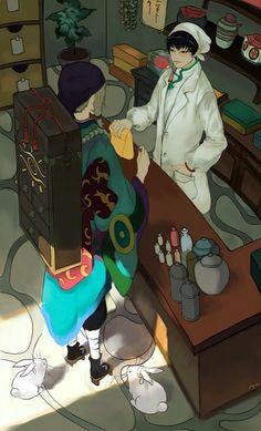 Mononoke and Hoozuki no Reitetsu Mononoke Anime, Divas, Japan Art, Beautiful Drawings, Illustrations And Posters, Cool Artwork, Anime Characters, Anime Art, Original Art