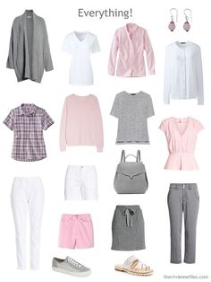Start with a Bracelet - The July Pink and Grey bracelet from Fierce Lynx Designs - The Vivienne Files Pink Sweatshirt With Plaid Mini Skirt is the best How To Wear Fashion Girl Warm Outfits, Pink Outfits, White Outfits, Casual Outfits, Fashion Outfits, Girl Fashion, Wardrobe Sets, Fall Capsule Wardrobe, Pink Wardrobe