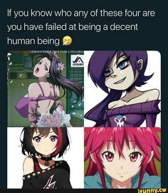 If you know who any of these four are you have failed at being a decent human being Q - iFunny :) Funny Animal Memes, Stupid Funny Memes, Funny Cartoons, Funny Comics, Final Fantasy Cosplay, Manga Anime, Anime Meme, Gaming Memes, Fanart