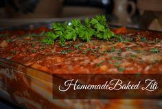 Homemade Baked Ziti