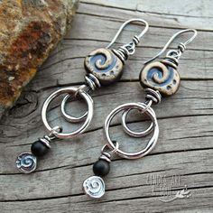 Earrings Everyday: The Sacred Spiral