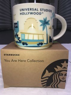 """""""BUY IT NOW""""... ONLY - $33.00 .. New UNIVERSAL STUDIOS HOLLYWOOD EXCLUSIVE (2018) """"You Are Here"""" COLLECTOR'S MUG ... THESE MAKE GREAT GIFTS FOR YOUR """"FAVORITE STARBUCKS FAN""""... YOU CAN ONLY GET THESE BEAUTIFUL MUGS FROM THE """"STARBUCKS COFFEE LOCATION"""" INSIDE THE """"UNIVERSAL STUDIOS HOLLYWOOD THEME PARK"""" ..( PLEASE CLICK-ON THE PICTURE FOR MORE DETAILS AND PICS ) .. #STARBUCKS #DISNEYLAND #WaltDisneyWorld #UniversalStudiosHollywood #CoffeeMugs #BaristaLife #POSHMARK #PoshMarkCloset…"""