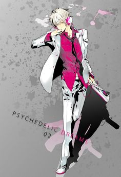 Delic - Durarara!! (He looks like a Vocaloid.)