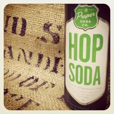 Hop Soda from Proper Soda Co. is here from Grand Rapids, Michigan! Hops, the female flower of the hop plant, have been used as an ingredient in great beer for hundreds of years. Proper Soda Co has taken this plant and put it somewhere completely unexpected, your soda!  The Produce Station - Grocery - Ann Arbor, MI