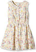 Yumi Girl's Confetti Floral Dress (Multi-Colour) Dress