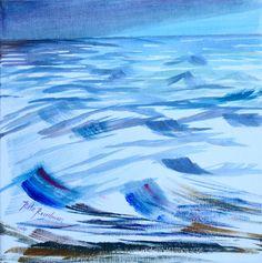 'Rough Sea#' acrylic on canvas http://www.ritareadman-artist.tumblr.com