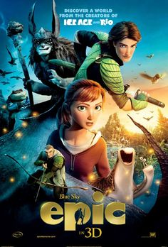 Epic Is A Great Summer Movie & A #Giveaway #ad http://www.thequeenofswag.com/2013/05/epic-is-a-great-summer-movie-a-giveaway.html