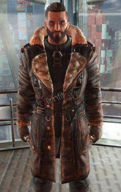 40fbf9ade98 Fallout 4 Brotherhood of Steel Elder Maxson Battle Coat
